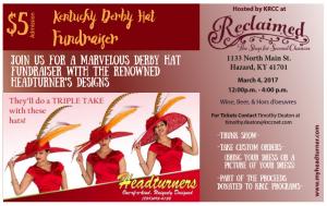 Derby Hat Fundraiser