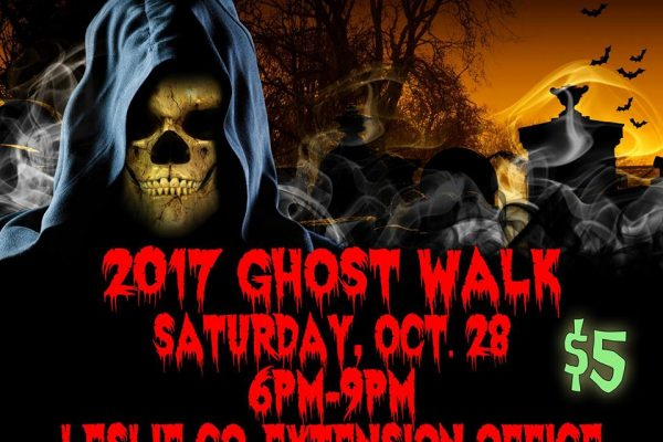 Leslie County Ghost Walk