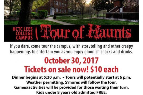 Tour of Haunts Lee's