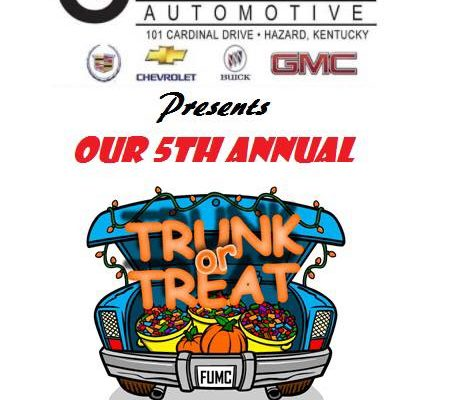 Trunk or Treat at Cardinal Auto