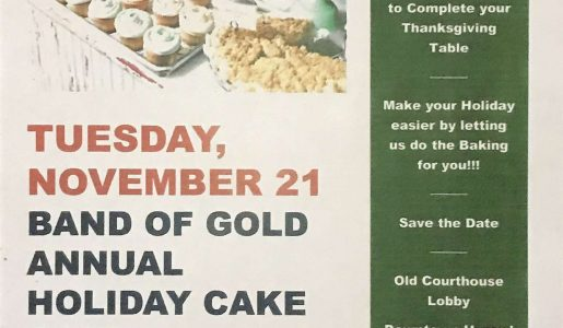 Holiday Cake Sale