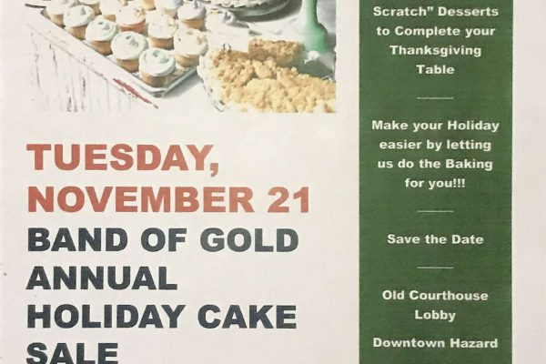 Holiday Cake Sale