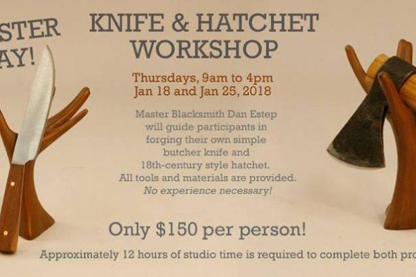 Make a knife or hatchet