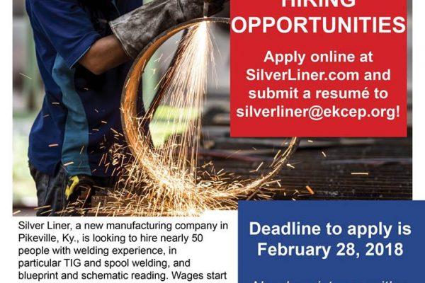 Silverliner Welders Apply