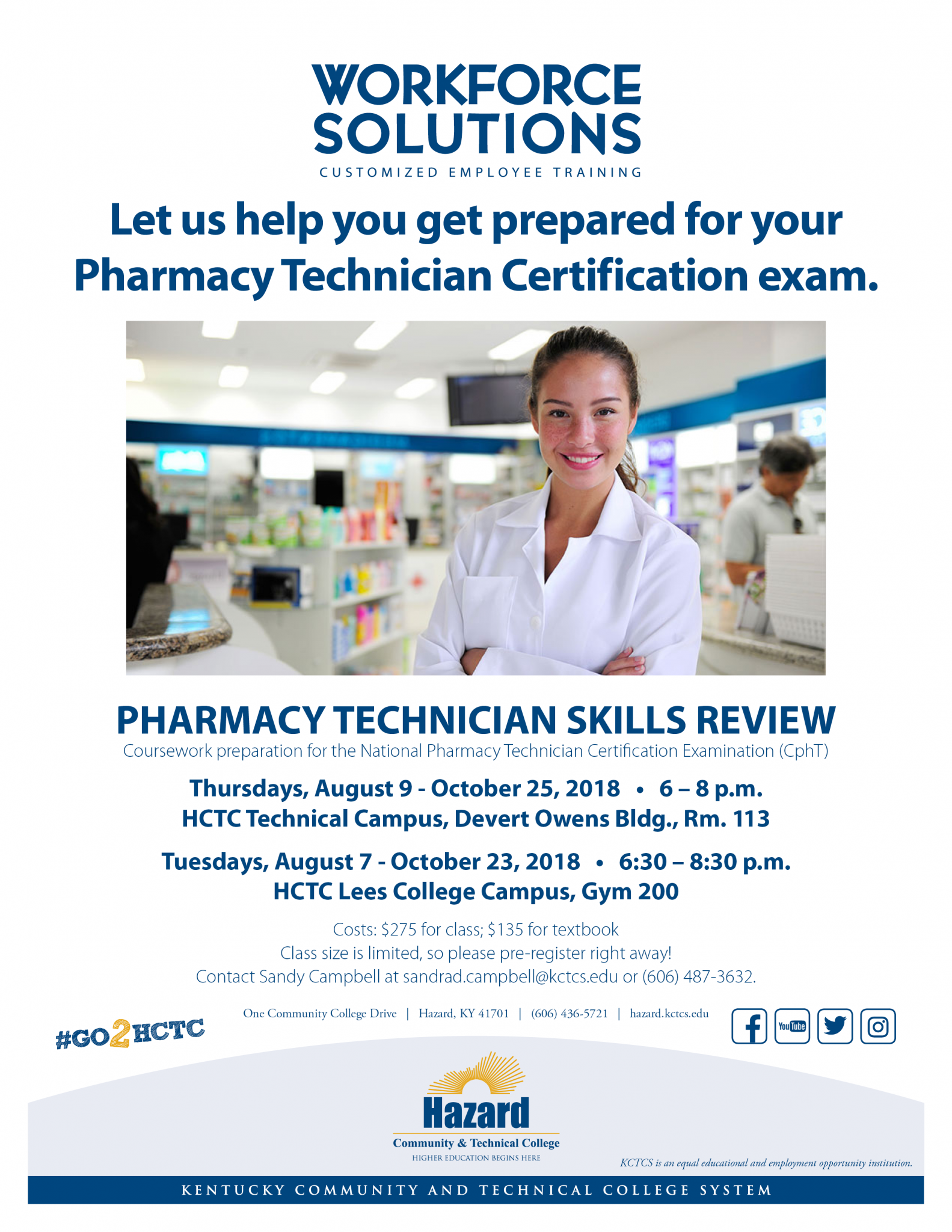 Pharmacy Technician Skills Review Hctc Class