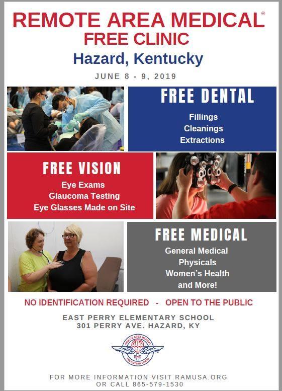 RAM Clinic @ East Perry Elementary School | Hazard | Kentucky | United States