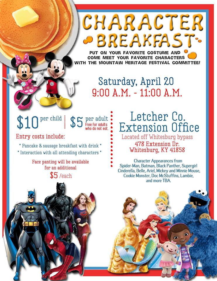 4th Annual Character Breakfast @ Letcher County Extension Office | Whitesburg | Kentucky | United States