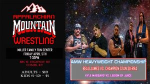 AMW-TV - Wrestling @ Miller Family Fun Center | Combs | Kentucky | United States
