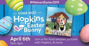 Come Meet Hopkins the Easter Bunny @ Walmart | Hazard | Kentucky | United States