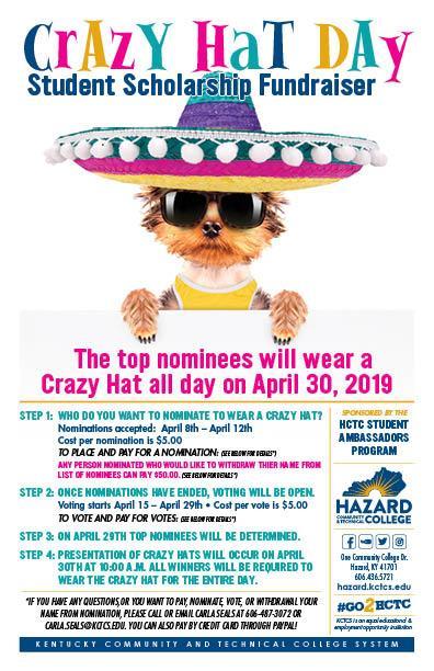 Crazy Hat Day - HCTC @ HCTC | Hazard | Kentucky | United States