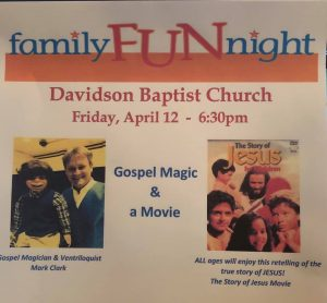 Family Fun Night @ Davidson Baptist Church | Hazard | Kentucky | United States