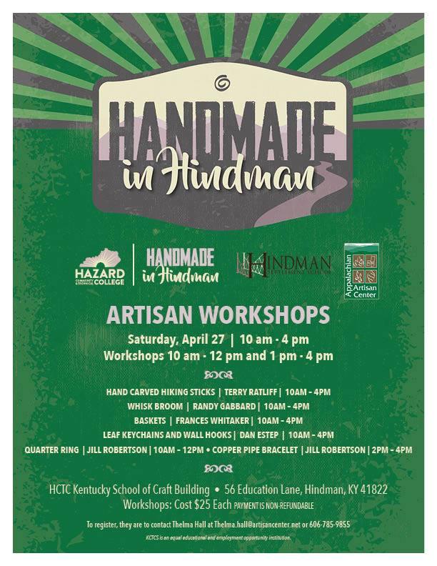 Handmade in Hindman @ Appalachian Artisan Center | Hindman | Kentucky | United States