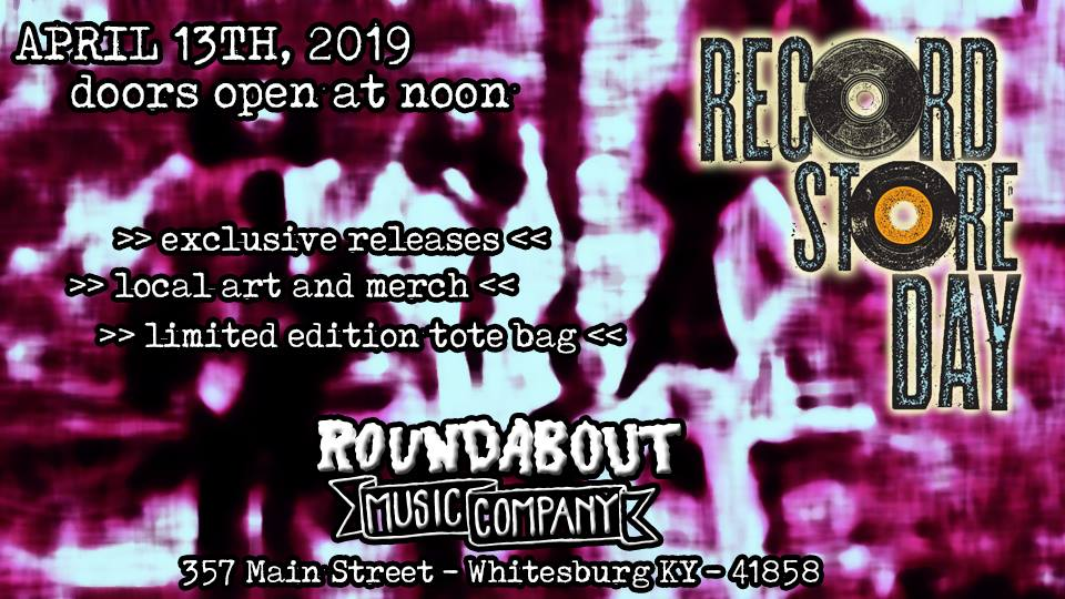 Record Store Day 2019 at RMC @ Roundabout Music Company | Whitesburg | Kentucky | United States
