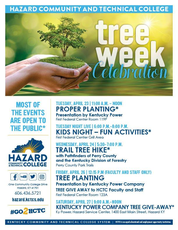 Tree Week Celebration - HCTC