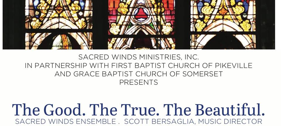 Sacred Winds - Summer Concert @ First Baptist Church of Pikeville | Pikeville | Kentucky | United States
