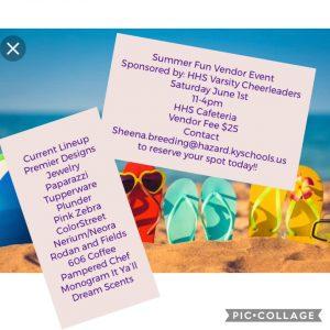 Summer Fun Vendor Event @ Hazard High School | Hazard | Kentucky | United States