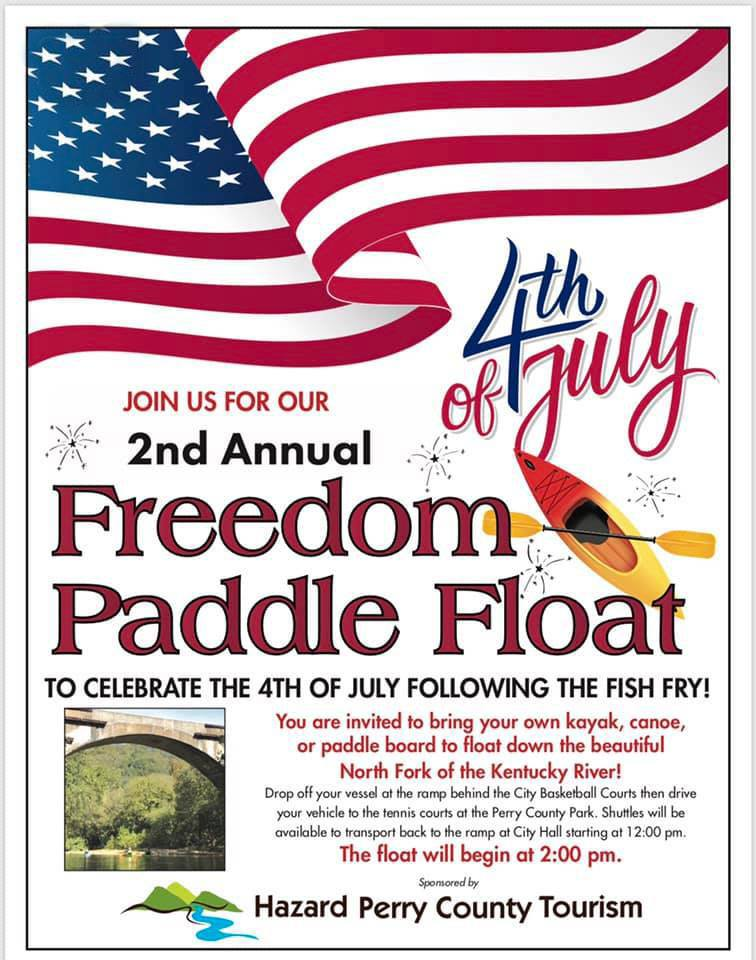 2nd Annual Freedom Paddle Float @ City Hall | Hazard | Kentucky | United States