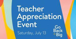 Teacher Appreciation Event - Walmart @ Walmart | Hazard | Kentucky | United States