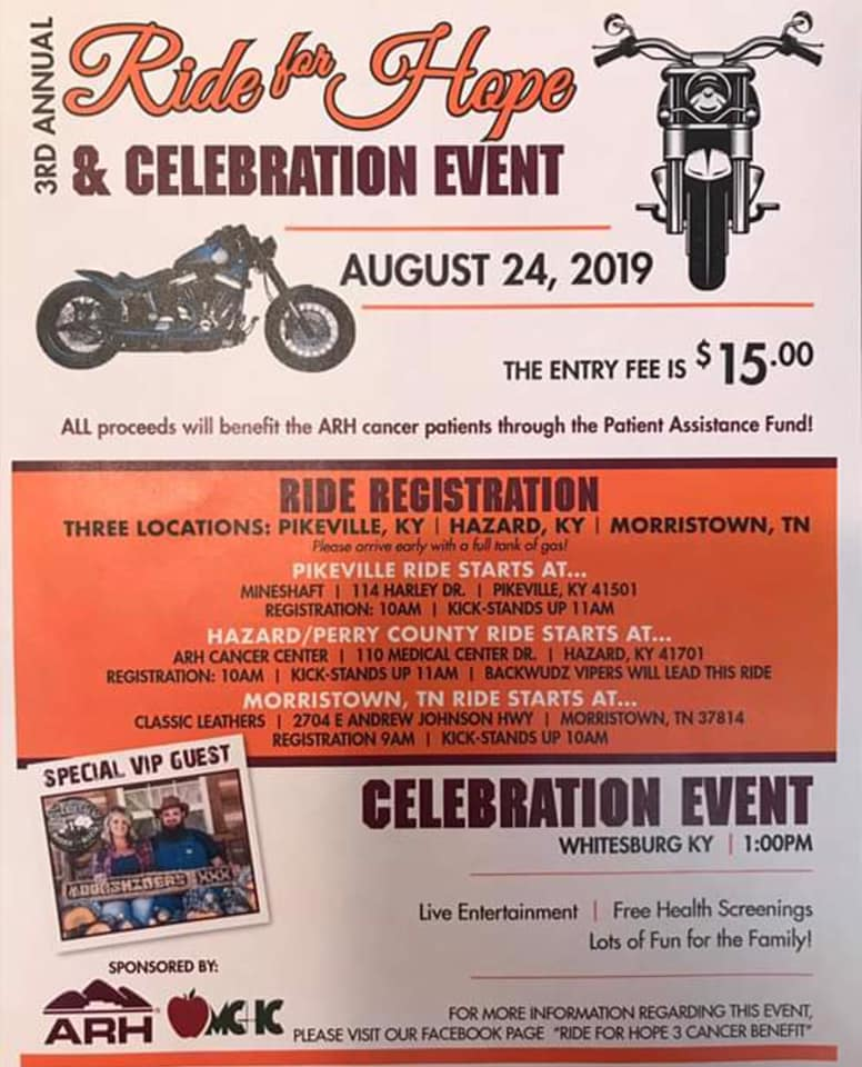 ARH - Ride for Hope @ ARH Cancer Center   Hazard   Kentucky   United States