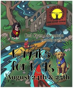 Kayaks for K9's @ Red River Adventure | Stanton | Kentucky | United States