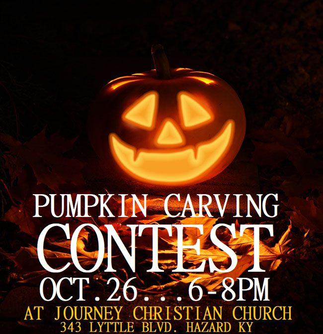 Pumpkin Carving Contest & Display @ Journey Christian Church | Hazard | Kentucky | United States