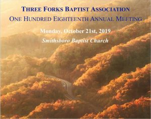 118th Annual Meeting @ Smithsboro Baptist Church | Kentucky | United States