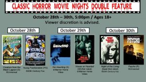 Classic Horror Movie Nights Double Feature @ Perry County Public Library | Hazard | Kentucky | United States