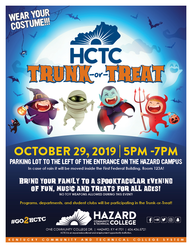 Trunk or Treat - HCTC @ HCTC | Hazard | Kentucky | United States
