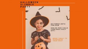 Halloween Slumber Party @ Spark Athletics | Kentucky | United States