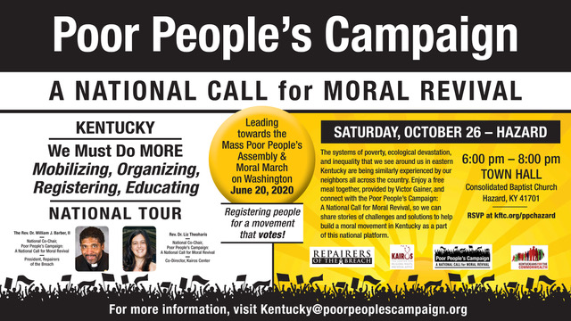 Poor People's Campaign @ Consolidated Baptist Church | Hazard | Kentucky | United States