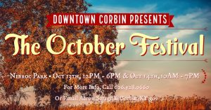 The 2019 October Festival - Corbin @ Corbin, KY | Corbin | Kentucky | United States