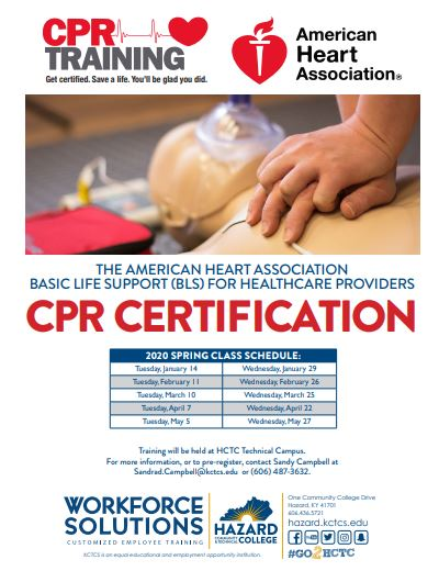CPR Training - HCTC @ HCTC | Hazard | Kentucky | United States