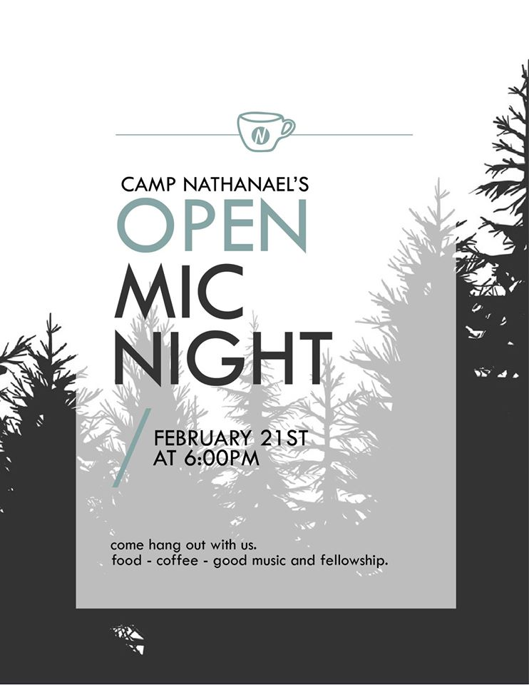 Camp Nathanael Open Mic Night @ Camp Nathanael | Hazard | Kentucky | United States