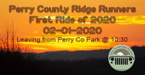 First Ride of 2020 - Perry County Ridge Runners @ Perry County Park | Hazard | Kentucky | United States