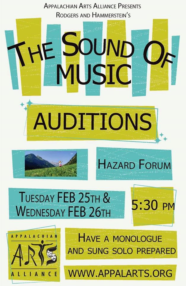 The Sound of Music - Auditions @ The Forum | Hazard | Kentucky | United States
