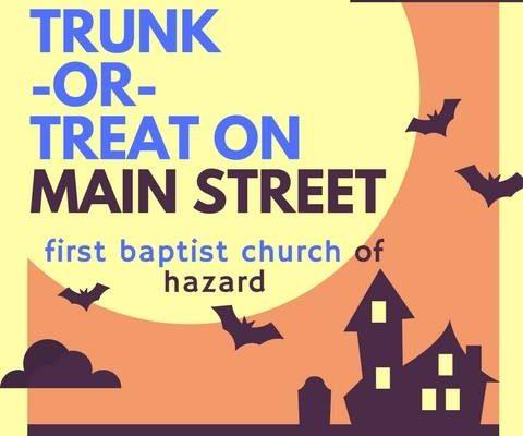 Main Street Trunk or Treat