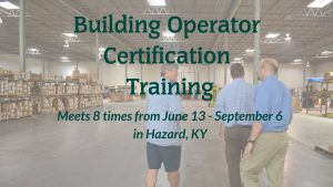Building Operator Certification Training @ MACED | Hazard | Kentucky | United States
