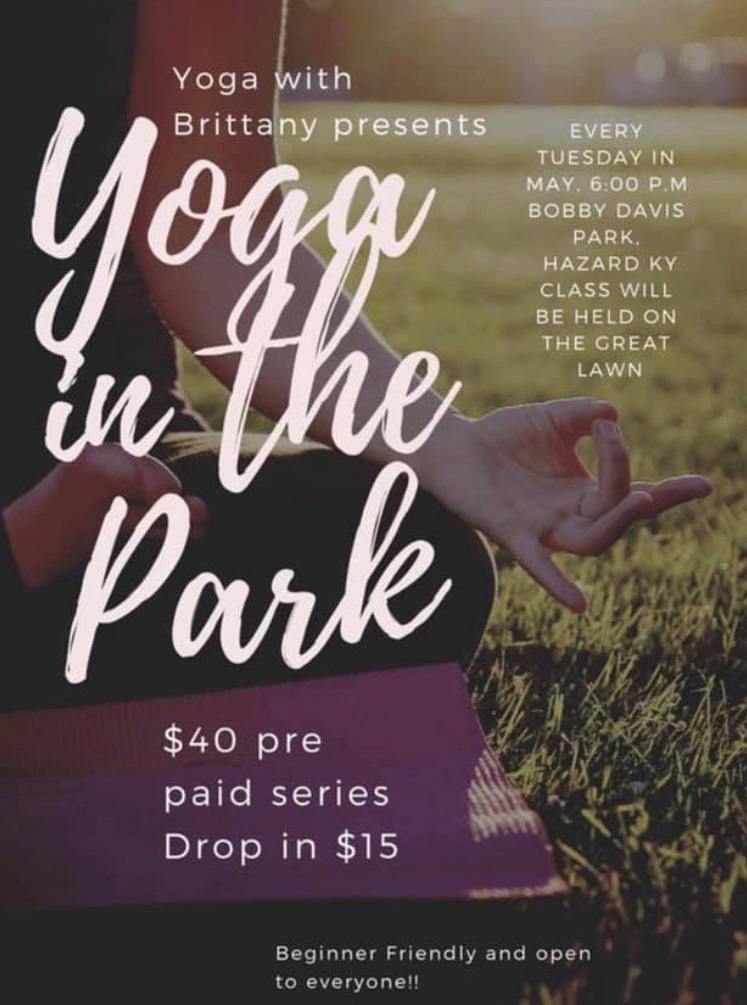 Yoga in the Park @ Bobby Davis Museum and Park   Hazard   Kentucky   United States