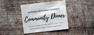 Community Dinners at Hindman Settlement School @ Hindman Settlement School | Hindman | Kentucky | United States