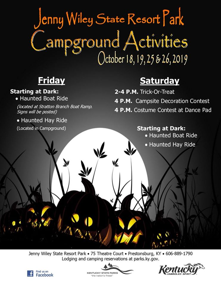 Halloween at the Campground - Jenny Wiley @ Jenny Wiley State Resort Park   Prestonsburg   Kentucky   United States