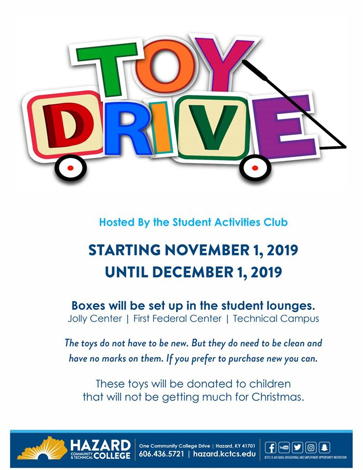 HCTC Toy Drive @ HCTC | Hazard | Kentucky | United States