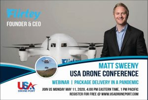 Webinar: Drone Package Delivery During Pandemics