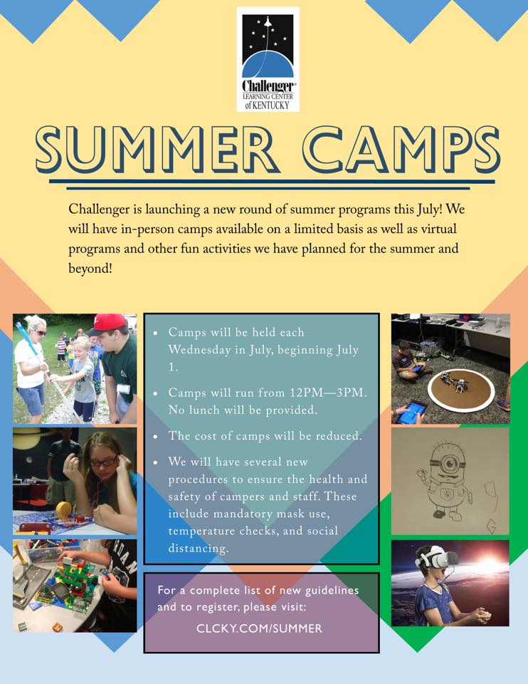 Challenger Learning Center - Summer Camps @ Challenger Learning Center of Kentucky | Hazard | Kentucky | United States