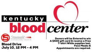 Blood Drive Hosted by the Kentucky Blood Center @ Summit Church Hazard | Hazard | Kentucky | United States