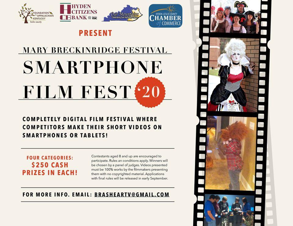 2020 MB Festival Smartphone Film Festival @ Online Event