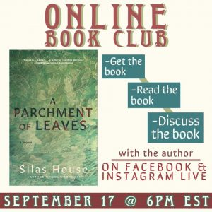 A Parchment of Leaves-Book Discussion @ Online Event
