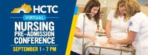 HCTC Nursing Pre-Admission Conference @ Online Event