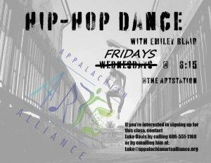 Hip Hop Dance Class - ArtStation @ Art Station | Hazard | Kentucky | United States