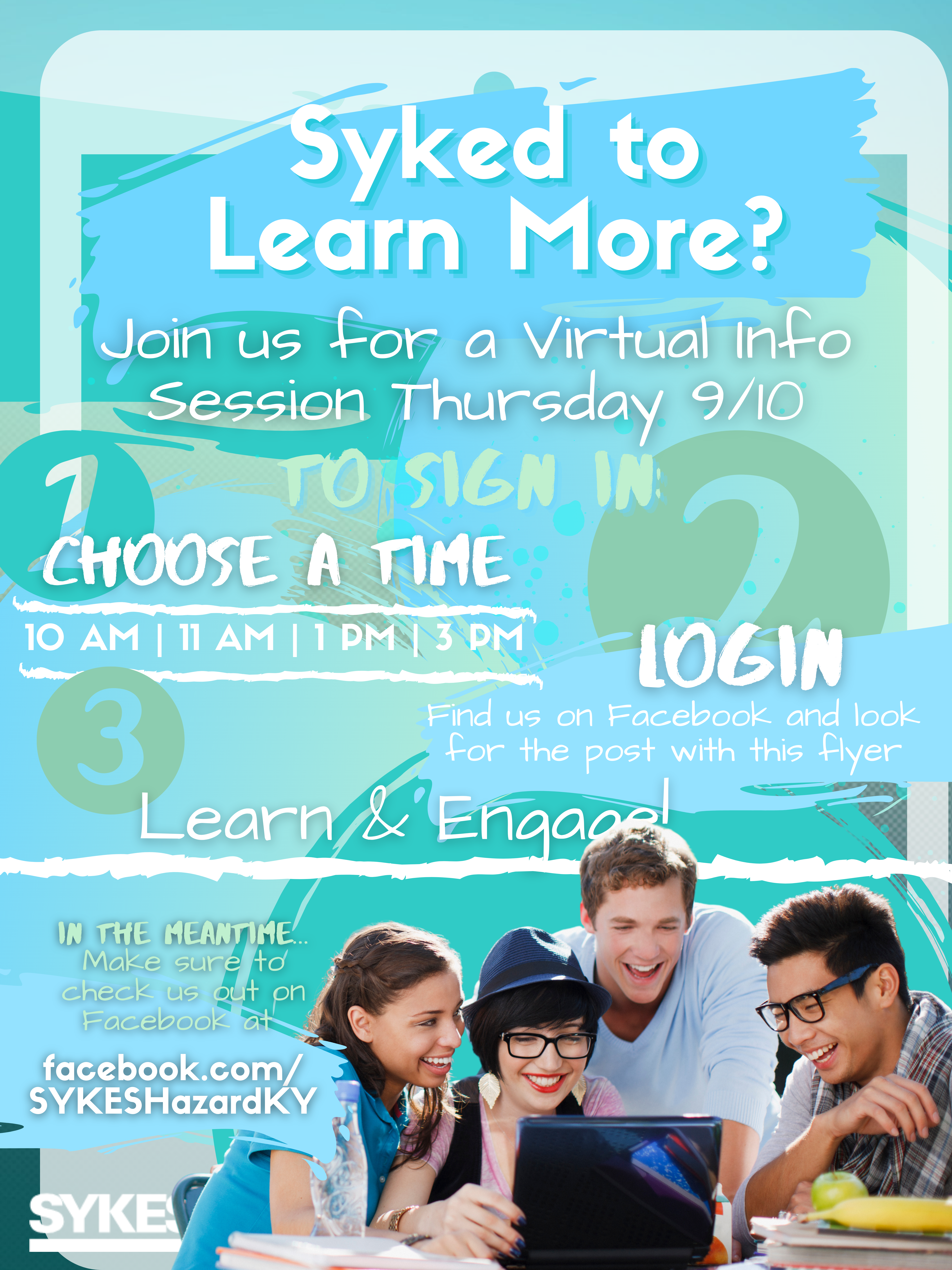 SYKES - Virtual Info Session @ Online Event
