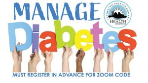 Statewide Living with Diabetes Online Workshop @ Online Event